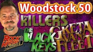 """""""Woodstock 50"""" To Include Greta Van Fleet, Black Keys, Killers, Jay-Z, Miley Cyrus?"""