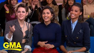 The leading ladies of 'Charlie's Angels' chat about the new film l GMA