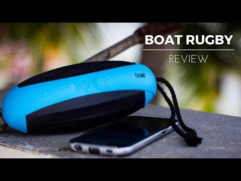 video Boat Rugby 10 W Bluetooth Speaker Review<span class=