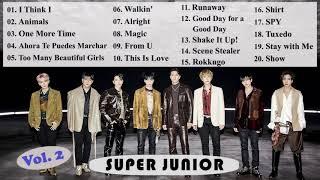 SUPER JUNIOR Best Songs Compilation Vol.2