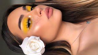 Easy Yellow SUMMER Makeup Tutorial I Aylin Melisa
