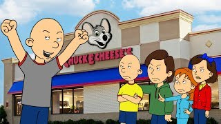 Classic Caillou Ruins Caillou's Birthday Trip To Chuck E. Cheese's/Grounded
