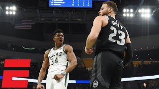 Giannis, Griffin go back-and-forth in marquee matchup | NBA Highlights