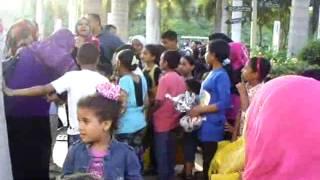 مسابقة ثقافية دينية اثناء الاحتفال بيوم اليتيم