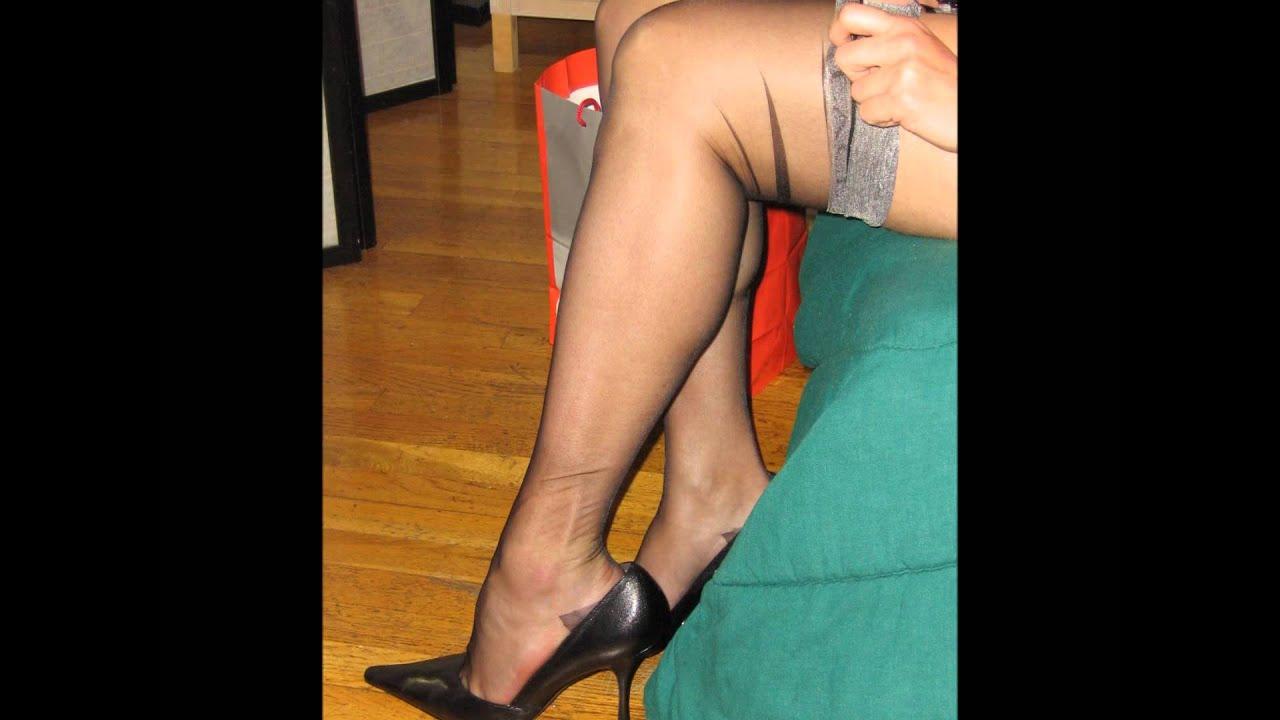 Sheer Nylon Legs 66