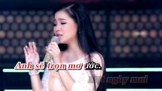 [Karaoke] LK Bạc Trắng Lửa Hồng & Anh Hãy Về Đi - Thiên Quang ft Quỳnh Trang