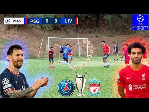 PSG x LIVERPOOL UEFA CHAMPIONS LEAGUE JOGO 5 x 5 DESAFIOS DE FUTEBOL ‹ Rikinho ›