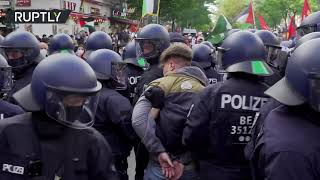 Pro-Palestinian rally in Berlin turns violent