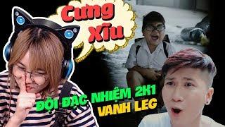 VANHLEG CÓ THẰNG EM CƯNG XĨU || REACTION ĐỘI ĐẶC NHIỆM 2k1 ( Parody ) - LEG  || SÂN SI CÙNG MISTHY