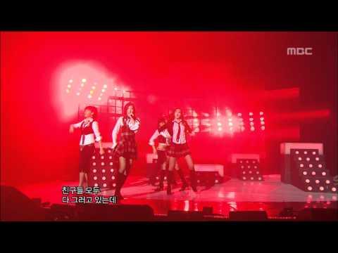 Wonder Girls - Irony, 원더걸스 - 아이러니, Music Core 20070210