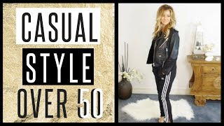 Over 50 Style Tips   Casual Sporty Style!