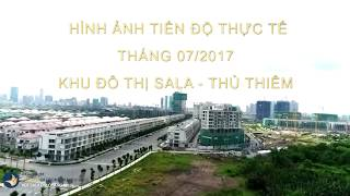 Tham quan Khu đô thị Sala Đại Quang Minh - Tháng 07/2017 - © Batdongsan Express