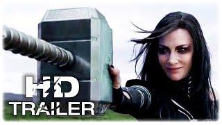 THOR RAGNAROK Hela Destroys Thor's Hammer Movie Clip (2017) Marvel Superhero Movie HD