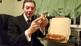 Pizza Hut Stuffed Garlic Knots Pizza - Food Review