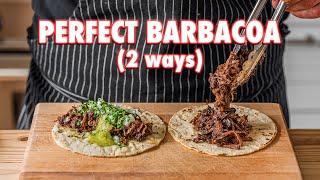 Perfect Homemade Barbacoa Tacos (2 Ways)