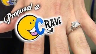 JP Proposes at CraveCon *VOMIT ALERT*
