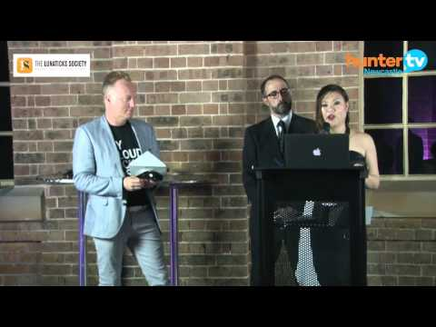 BlinkMobile Interactive - Darren Besgrove at the 2015 Newi Awards