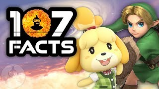 107 Super Smash Bros. Ultimate Facts YOU Should Know | The Leaderboard