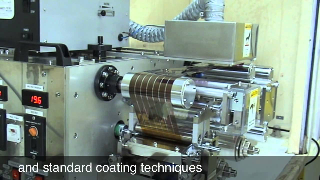 Printing Solar Cells Youtube