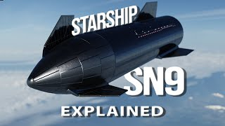 SpaceX Starship Testflight: SN9