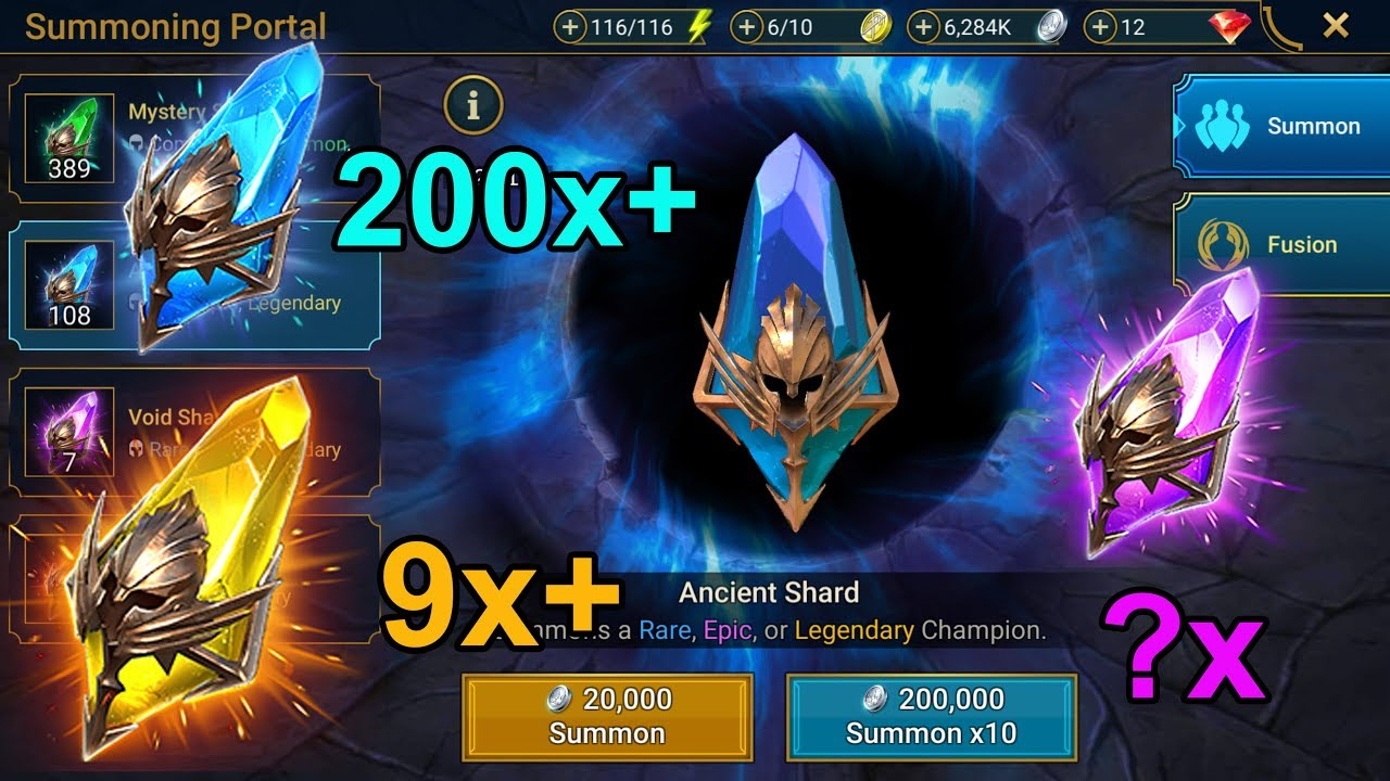 THE BIGGEST SHARD OPENING YET - RAID: Shadow Legends - Episode 43