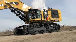 Cat 6015B Excavator Fitting The Bucket And The First Loads - Sotiriadis Brothers