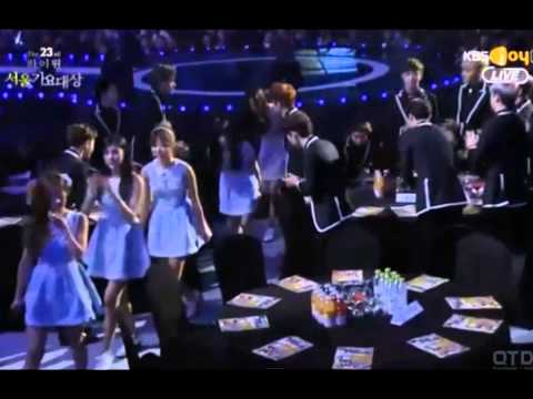 [EXOPINK] Moments @ 23rd Seoul Music Awards