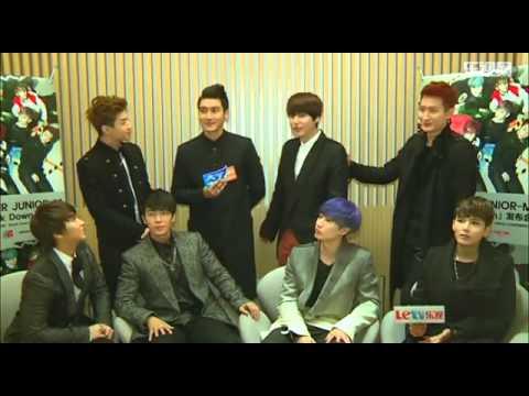 [LETV獨家訪問] Super Junior M 我們想來中國拍廣告   赫海   EUNHAE*