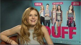 Bella Thorne full interview. She tells us
