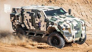 10 Vehículos Blindados Militares más Sorprendentes del Mundo
