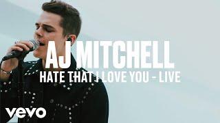 AJ Mitchell - Hate That I Love You (Live)   Vevo DSCVR ARTISTS TO WATCH 2019