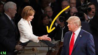 Trump IGNORES Pelosi's Handshake - Then she LOSES IT!