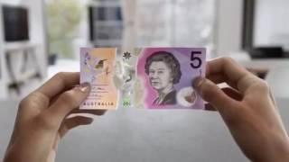 Tờ tiền $5 đô Úc kim mới nhất từ 1/09/2016