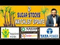 🛑 నా Sugar Stocks🎋 Watchlist Imp Update | Happiest Minds Results ఎలావున్నాయి? SagarCement Tata Power