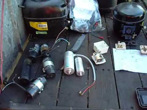 Re Compressor Starting Equipment And Wiring Diagram Youtube