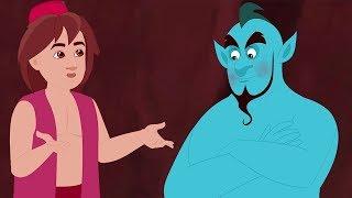 Aladdin and the Magic Lamp - Malayalam Fairy Tales - അല്ലാടിന് ആൻഡ് ദി മാജിക് ലാംപ് -Bedtime Stories