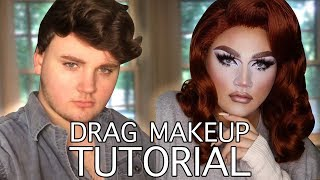 Drag Makeup Tutorial - Golgi Knows Best
