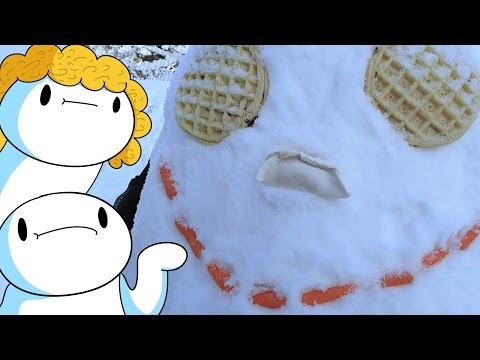 I build a 'snowman' for half of this video and talk for the rest (not clickbait)