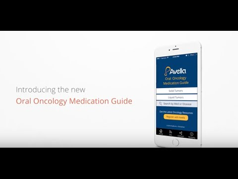 Oral Oncology Medication Guide App