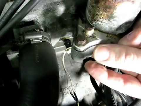 Engine Coolant Temperature Sensor Remove And Replace