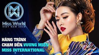 Á Hậu Tường San và Hành trình chạm đến vương miện Miss International