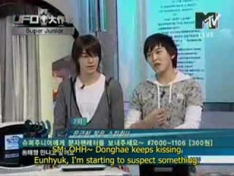 ENG | SPA Donghae loves skinship with Eunhyuk - EunHae busted by Sungmin