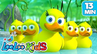 Five Little Ducks - THE BEST Songs for Children | LooLoo Kids - YouTube