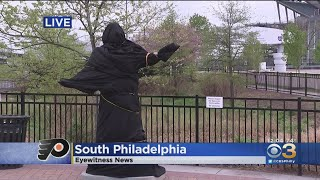 Kate Smith Statue Outside Wells Fargo Center Covered After Alleged History Of Racism