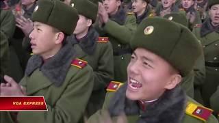 Triều Tiên diễu binh trước ngày khai mạc Olympic