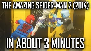 THE AMAZING SPIDER-MAN 2 (2014) IN 3 MINUTES
