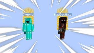 Every Time BadBoyHalo and I Jump we Launch 50 Blocks (ANGRY)