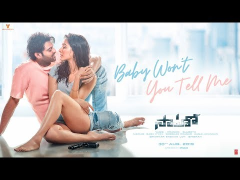Saaho---Baby-Won--039-t-You-Tell-Me-Song