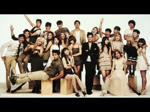 KPOP Evolution (JYP Entertainment Artists Evolution) - Until 2016