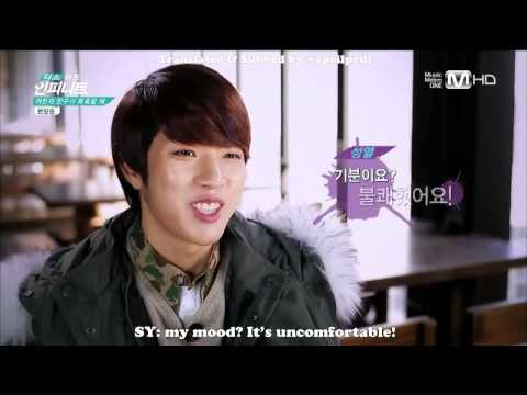 [ENG SUB] [HD] This Is INFINITE Ep. 3 - Sungyeol with handcream cut